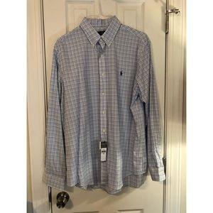 Classic Ralph Lauren Button Down Shirt NWT